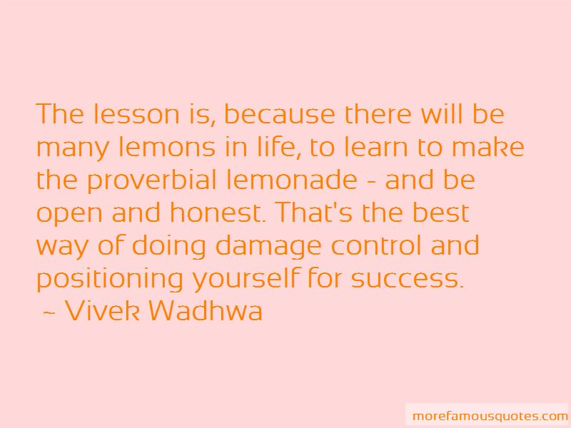 Way To Success In Life Quotes