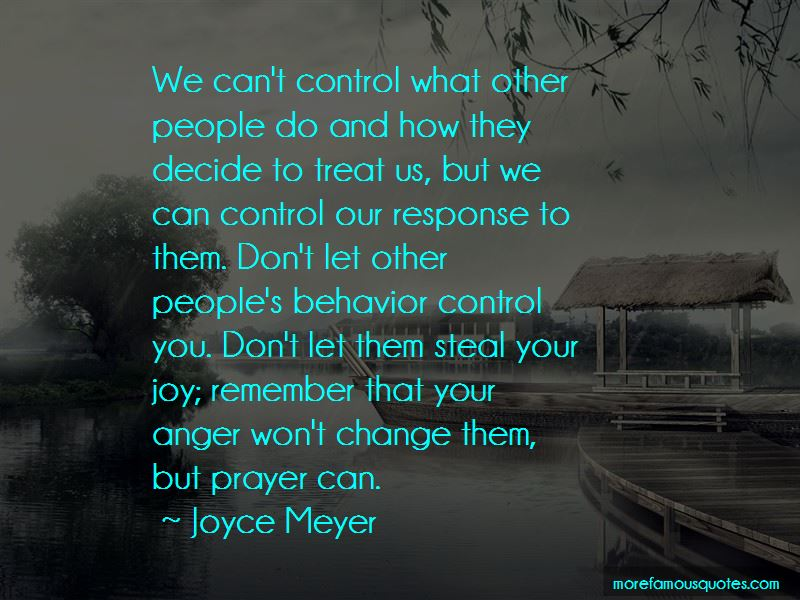 We Can't Control Quotes