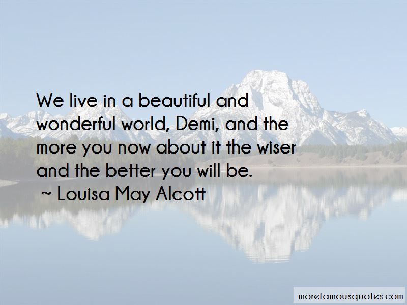 We Live In A Wonderful World Quotes Pictures 4