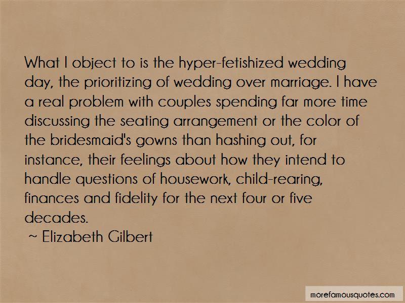 Wedding Arrangement Quotes