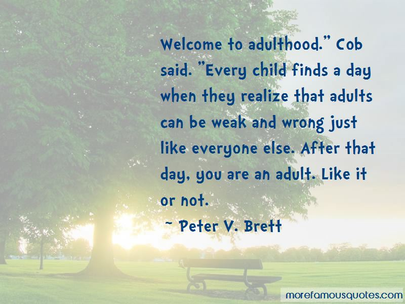 Welcome To Adulthood Quotes Pictures 2