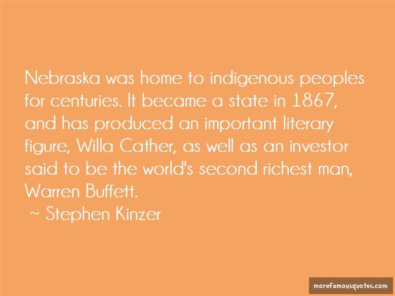 Willa Cather Nebraska Quotes