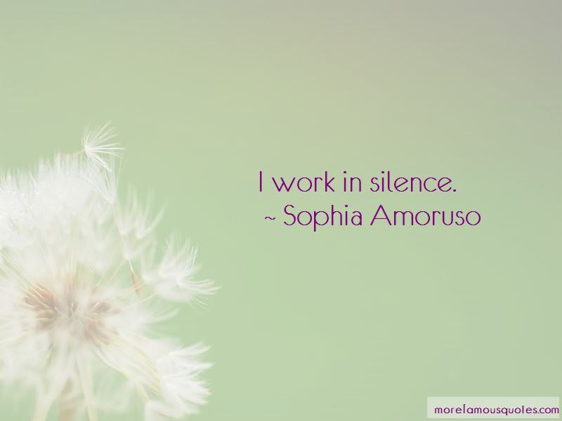 Work In Silence Quotes Pictures 2