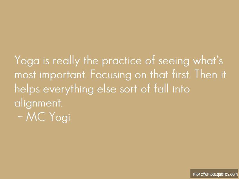 Yoga Alignment Quotes