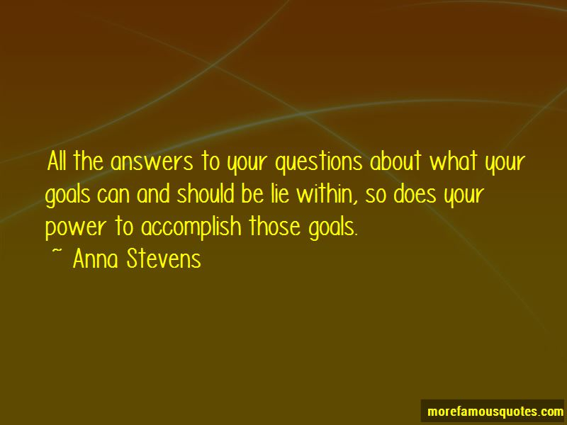 Answers Lie Within Quotes Pictures 2