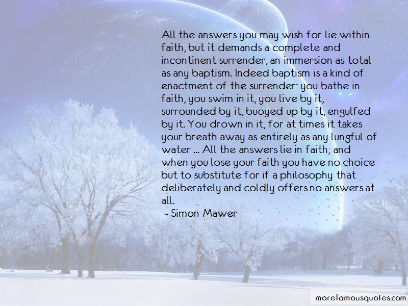 Answers Lie Within Quotes