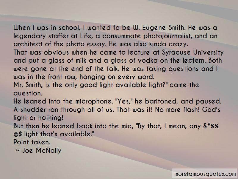 Eugene Light Quotes