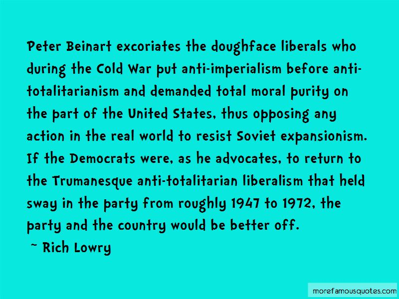 Expansionism And Imperialism Quotes