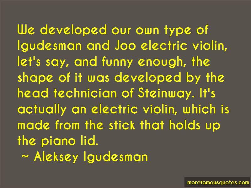 Igudesman Quotes