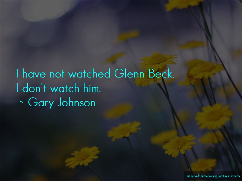L Beck Quotes