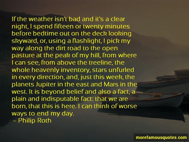 Looking Skyward Quotes