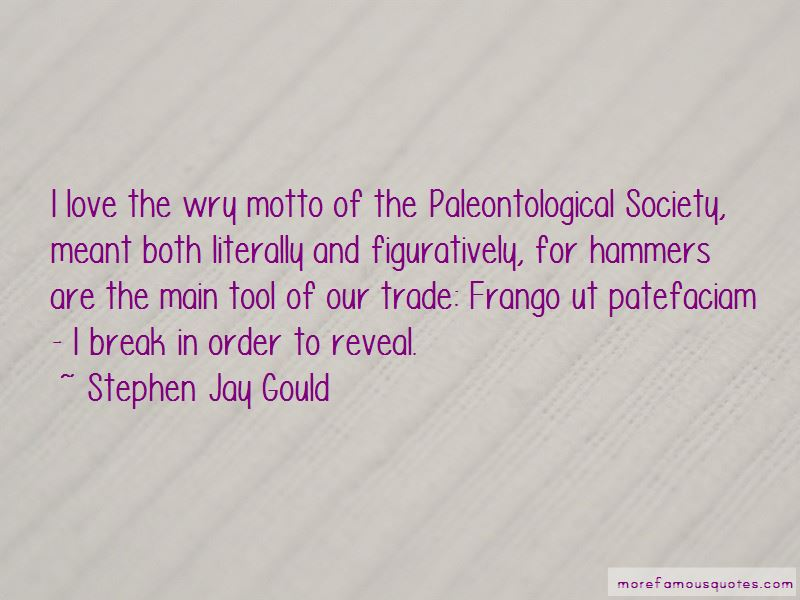 Paleontological Society Quotes