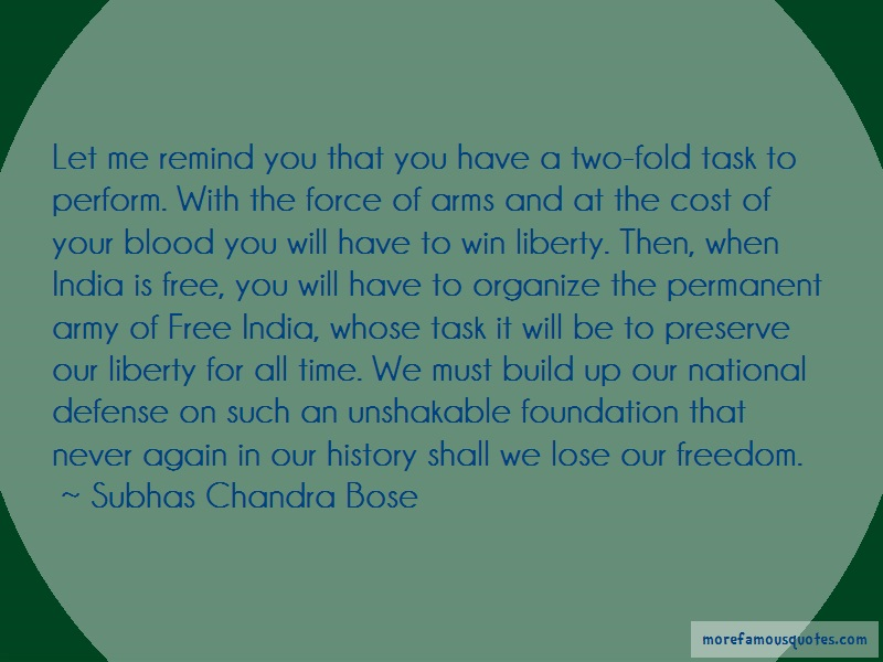 Subhas Chandra Bose Quotes: Let me remind you that you have a two