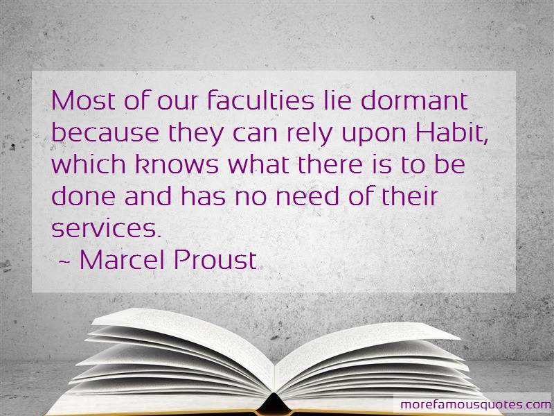 which of our faculties do you