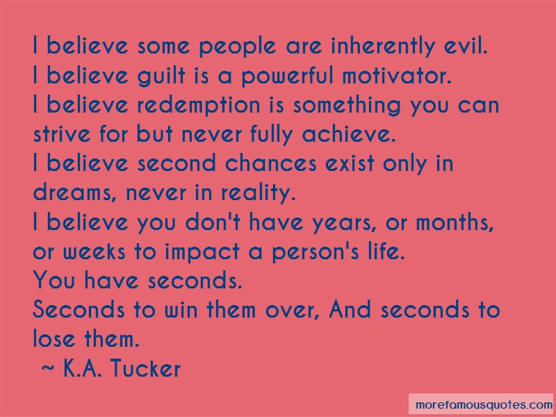 people are inherently evil