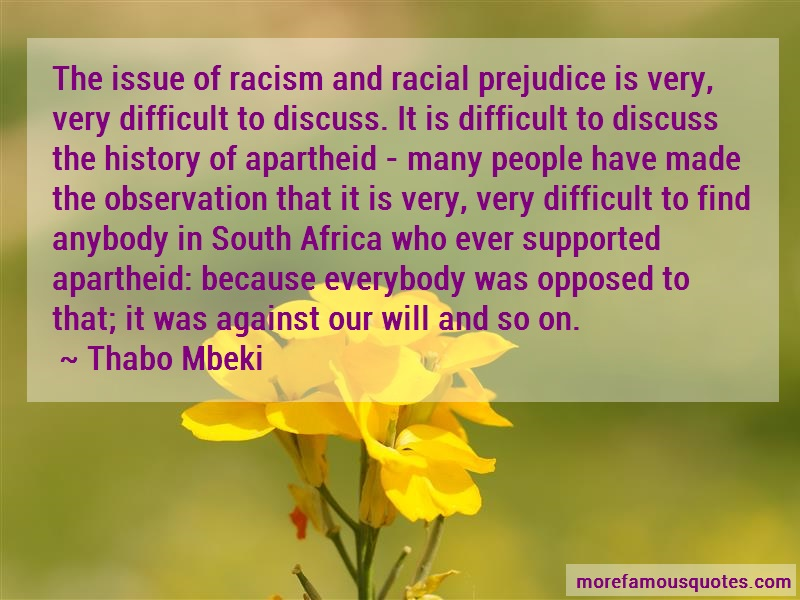 an introduction to the issue of racial prejudice Racism is a major issue in today's society racism and prejudice camara harell this belief in equality shielded me from the racial prejudice that i.