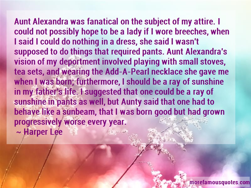 aunt alexandra