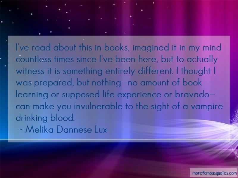 experience vs book