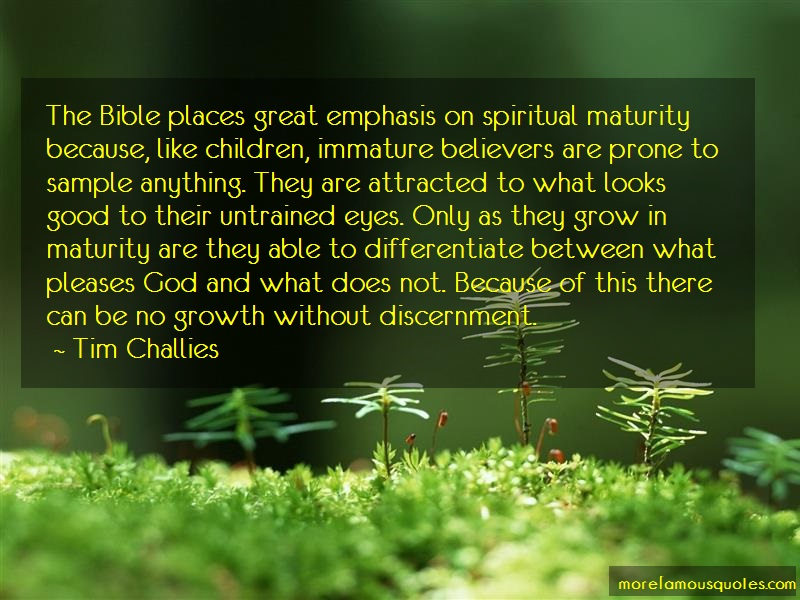 Tim Challies Quotes: The bible places great emphasis on
