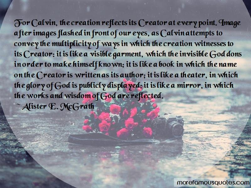 reflecting wisdom