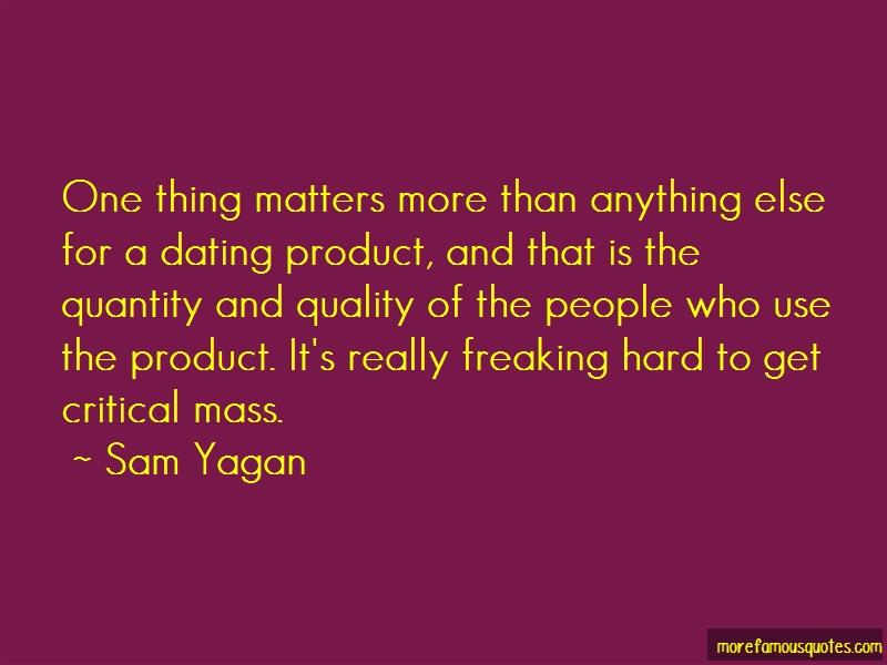 does critical mass matter