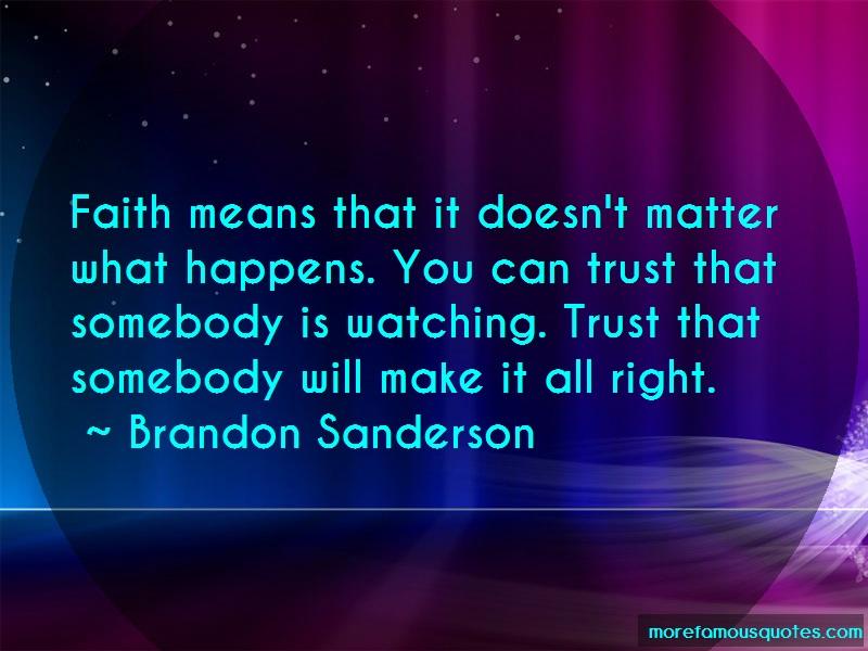 faith means trust trust - 800×600