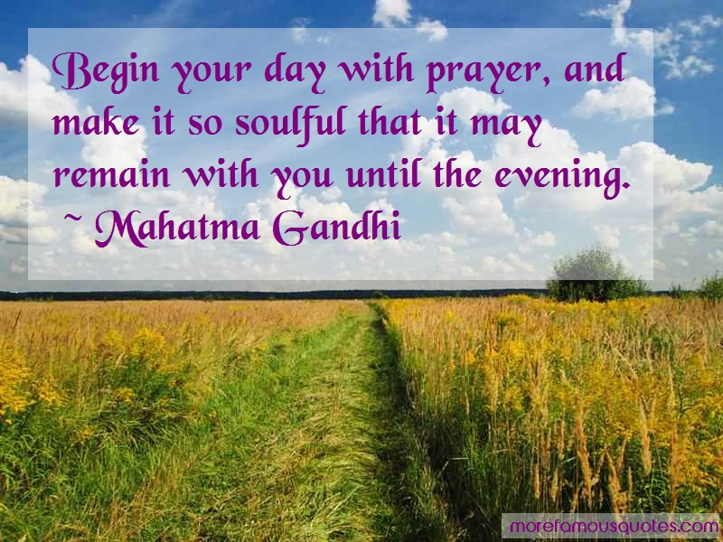 Mahatma Gandhi Quotes: Begin Your Day With Prayer And Make It