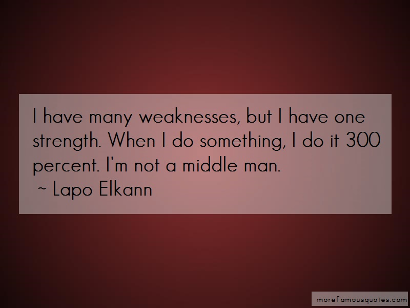 Lapo Elkann Quotes: I have many weaknesses but i have one