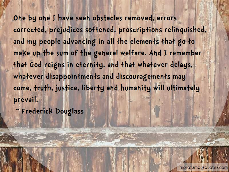 frederick douglass obstacles