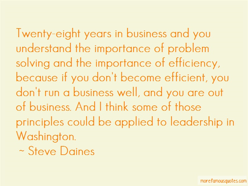 Steve Daines Quotes: Twenty Eight Years In Business And You