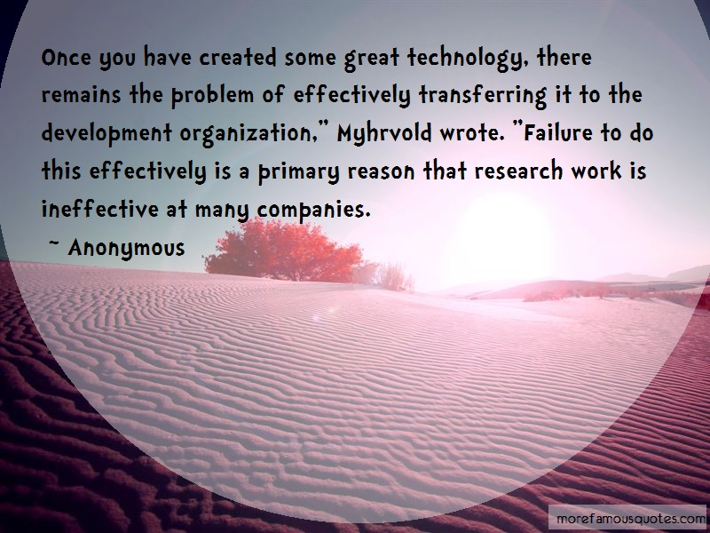 Anonymous. Quotes: Once you have created some great