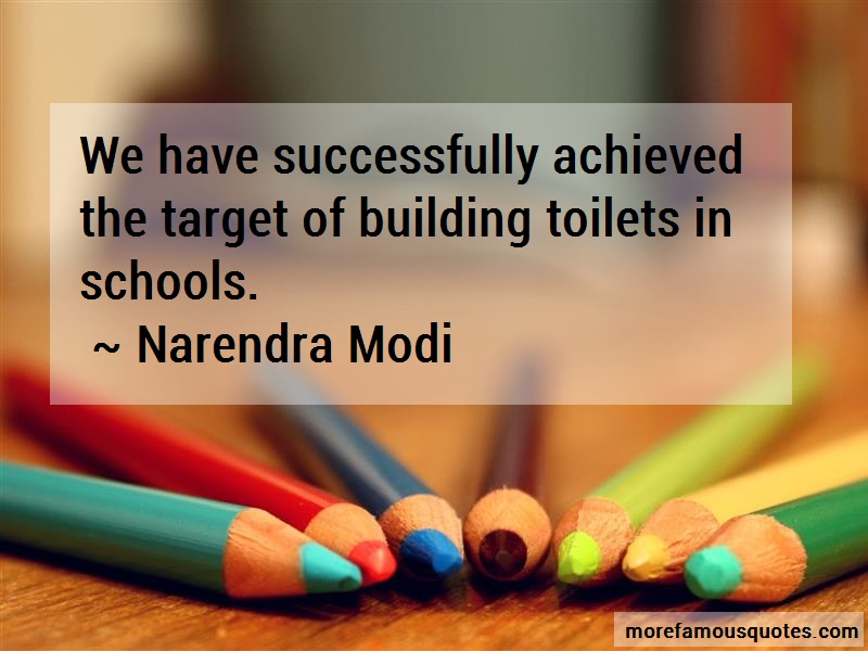 Narendra Modi Quotes: We Have Successfully Achieved The Target