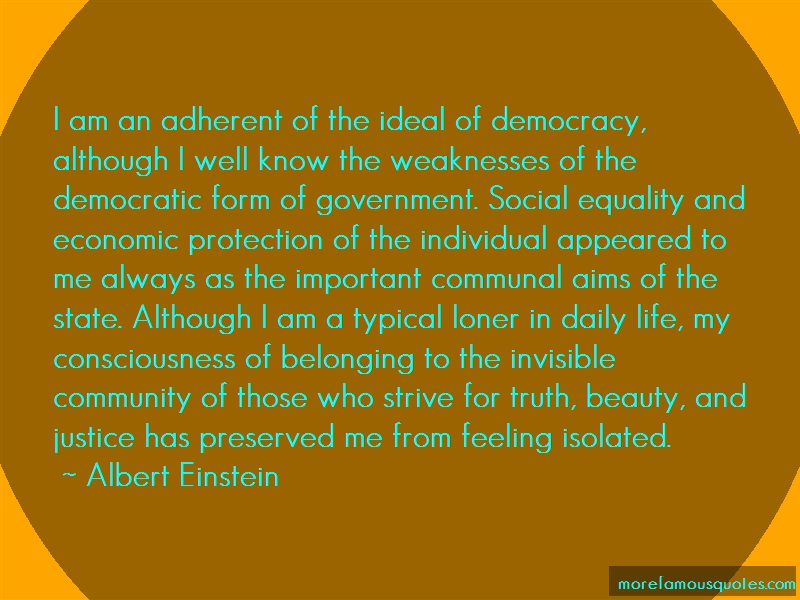 democracy is the weakest form of government