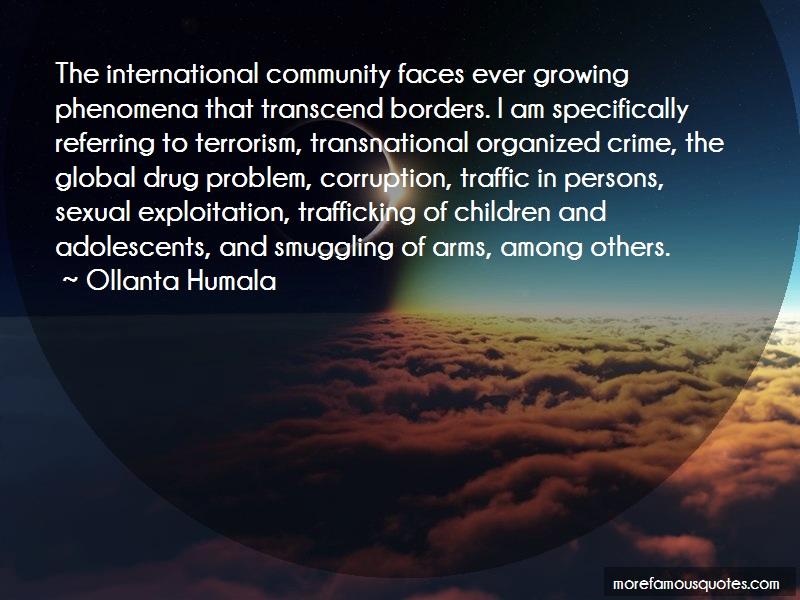 Ollanta Humala Quotes: The International Community Faces Ever
