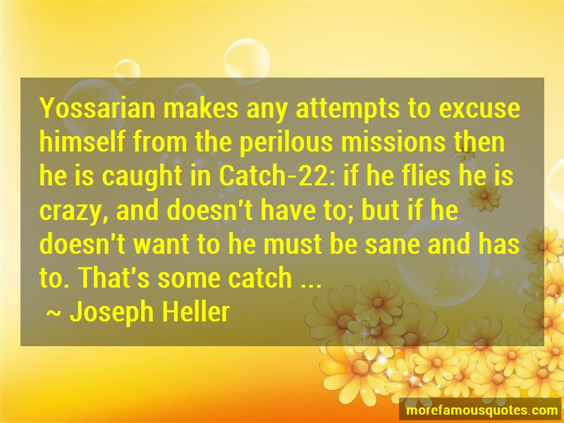 the character of yossarian in the novel catch 22 by joseph heller