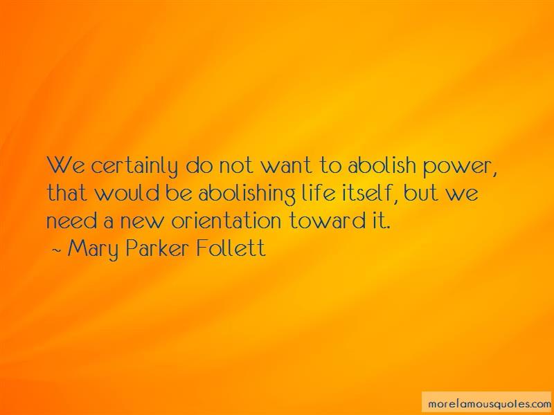 mary parker follett power essay