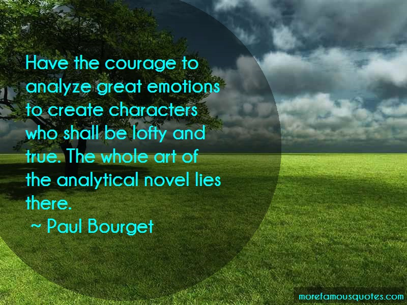 an analysis of courage