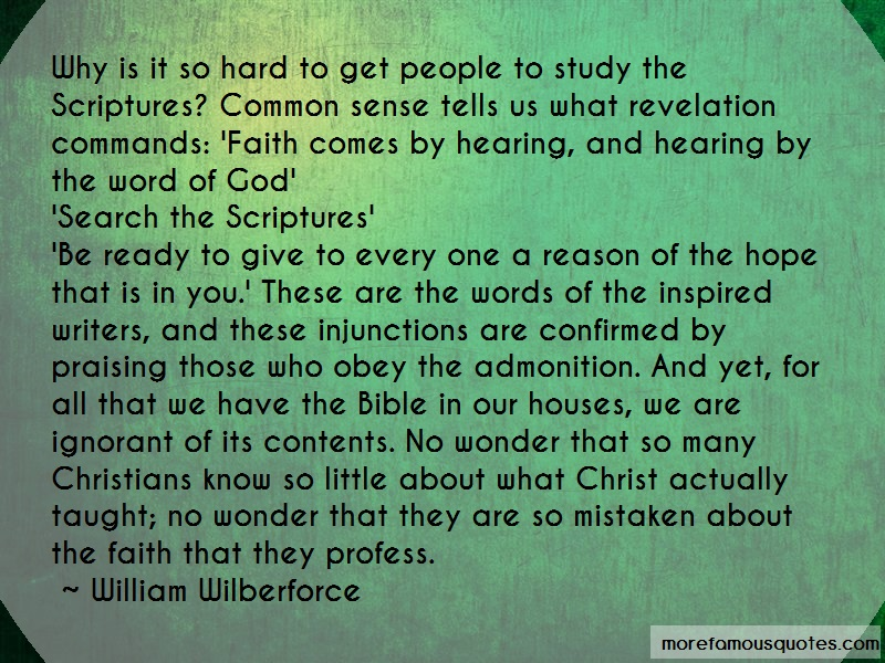 William Wilberforce Quotes: Why Is It So Hard To Get People To Study