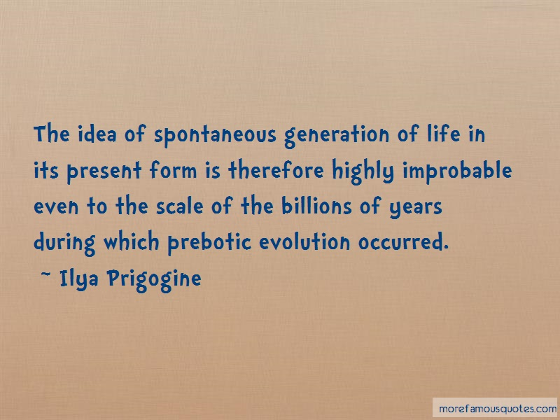 a description of the disproval of spontaneous generation
