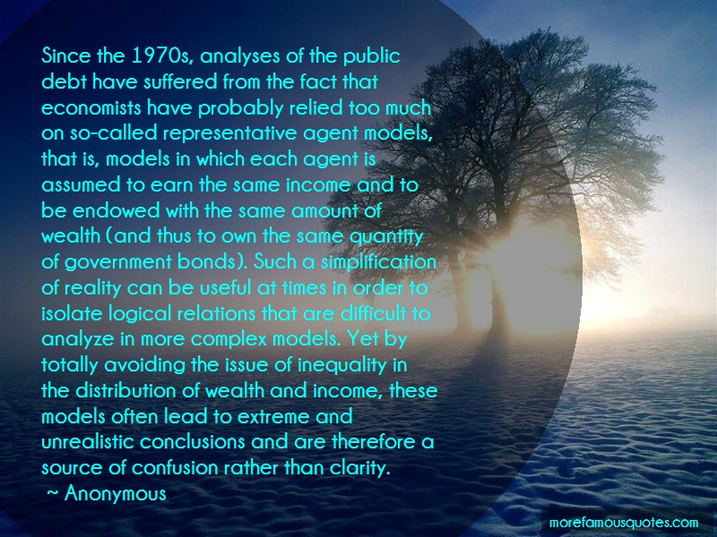 Anonymous. Quotes: Since the 1970s analyses of the public