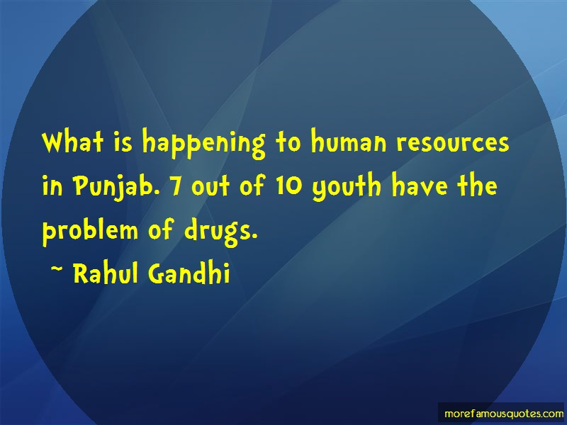 Rahul Gandhi Quotes: What Is Happening To Human Resources In