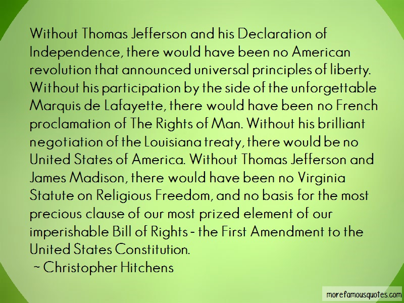 the effectiveness of thomas jeffersons addressing of the declaration of independence