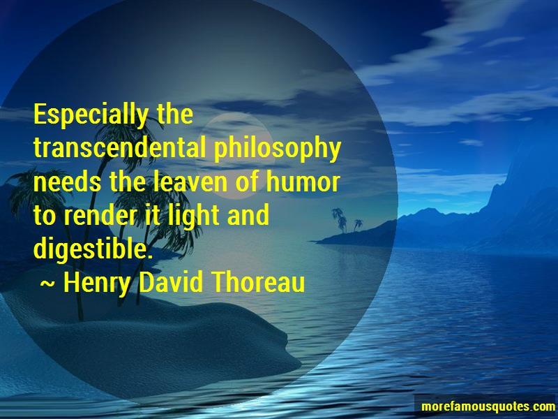 henry david thoreau transcendentalist
