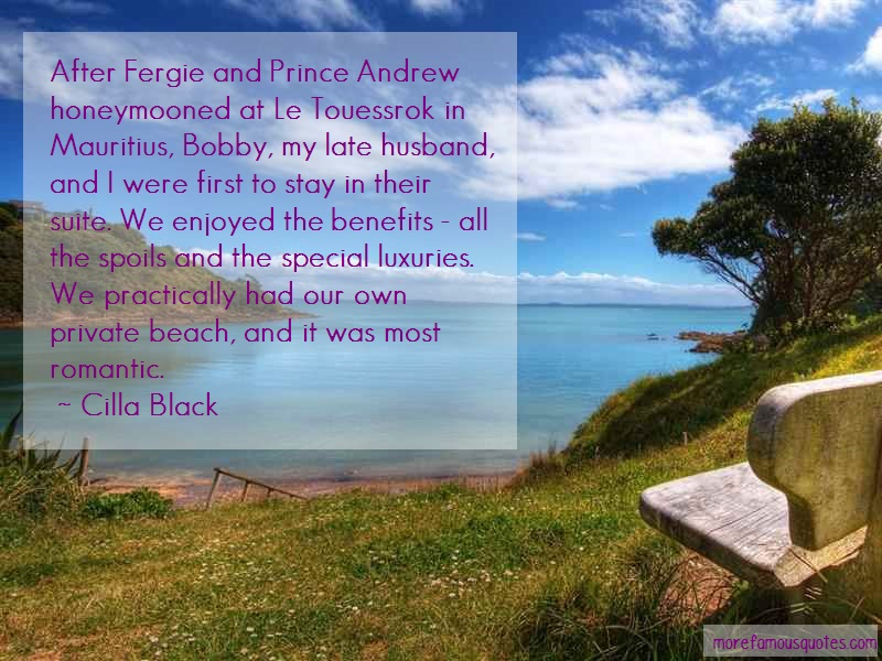Cilla Black Quotes: After fergie and prince andrew
