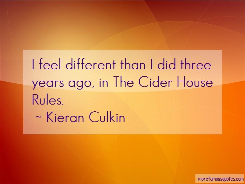 Kieran Culkin Quotes: I Feel Different Than I Did Three Years