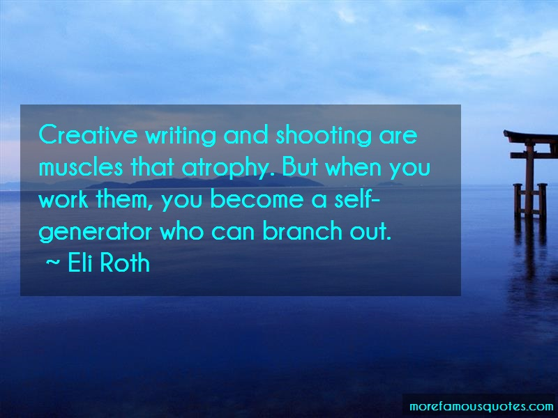 writing creativity quotes I never attended a creative writing class in my life i have a horror of them most writers groups moonlight as support groups for the kind of people who think that writing is therapeutic writing is the exact opposite of therapy zadie smith.