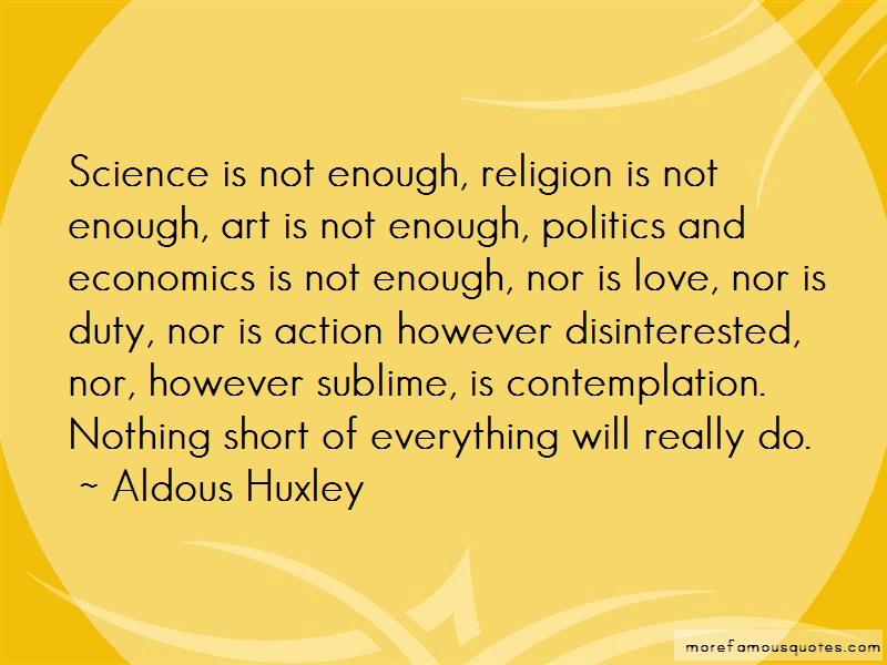 aldous huxley a man's concern for