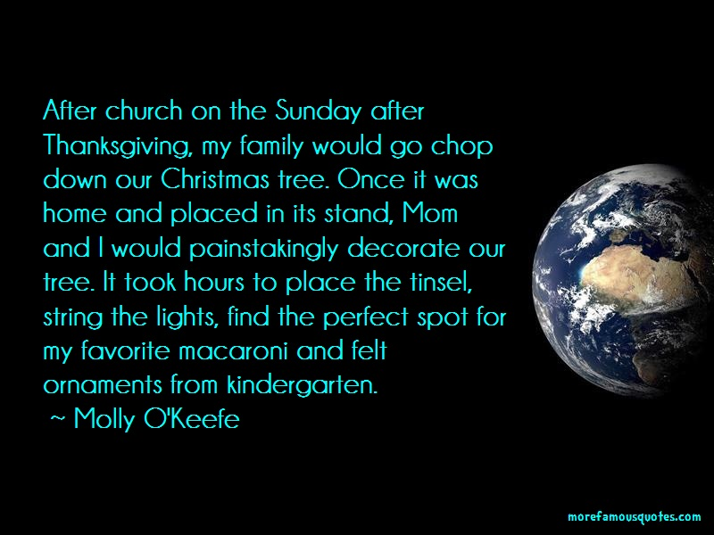 Molly O'Keefe Quotes: After Church On The Sunday After