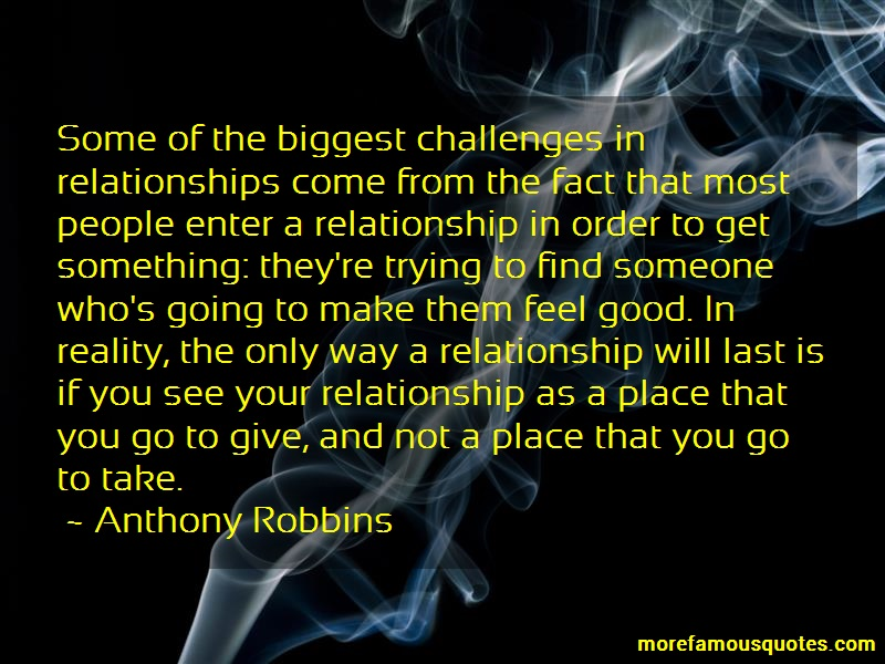 Anthony Robbins Quotes: Some of the biggest challenges in