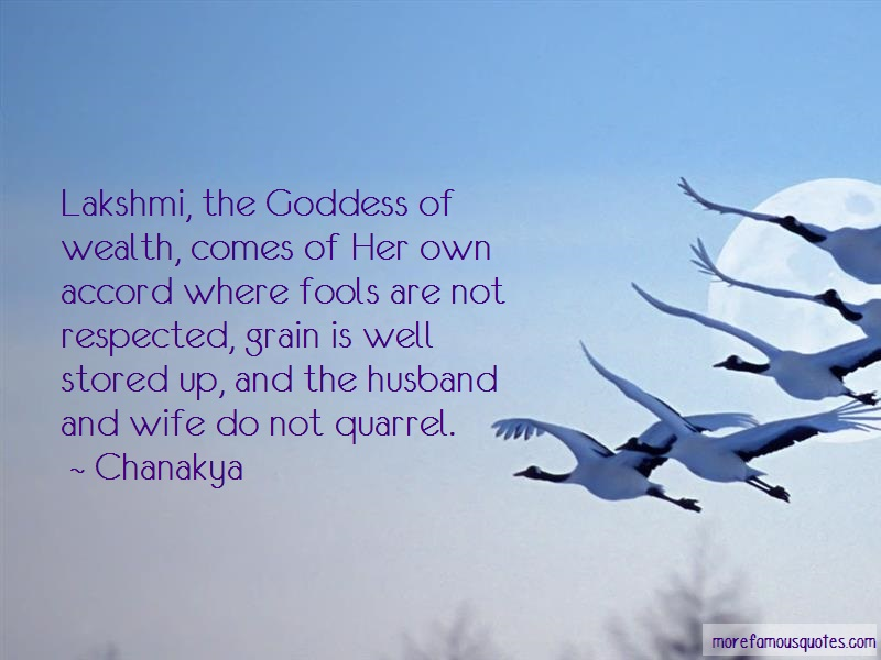 Chanakya Quotes: Lakshmi The Goddess Of Wealth Comes Of